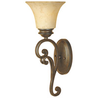 Designers Fountain Mendocino 1 Light Bath Vanity in Forged Sienna 81801-FSN