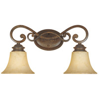 Designers Fountain Mendocino 2 Light Bath Vanity in Forged Sienna 81802-FSN