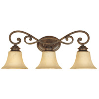 Designers Fountain Mendocino 3 Light Bath Vanity in Forged Sienna 81803-FSN