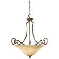 Designers Fountain Mendocino 3 Light Pendant in Forged Sienna 81831-FSN