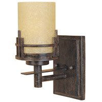 Mission Ridge 1 Light 5 inch Warm Mahogany Wall Sconce Wall Light