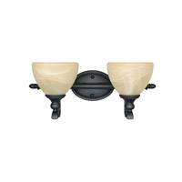 Designers Fountain Del Amo 2 Light Bath Vanity in Burnished Bronze 82802-BNB
