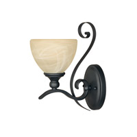 Designers Fountain Del Amo 1 Light Bath Vanity in Burnished Bronze 82807-BNB