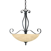 Designers Fountain Del Amo 3 Light Pendant in Burnished Bronze 82831-BNB