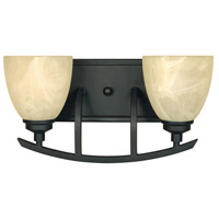 Designers Fountain Tackwood 2 Light Bath Vanity in Burnished Bronze 82902-BNB