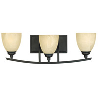 Designers Fountain Tackwood 3 Light Bath Bar in Burnished Bronze 82903-BNB
