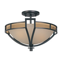 Designers Fountain Majorca 2 Light Semi-Flush in Oil Rubbed Bronze 83111-ORB
