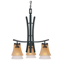 Designers Fountain Majorca 3 Light Chandelier in Oil Rubbed Bronze 83183-ORB