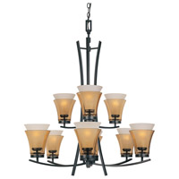 Designers Fountain Majorca 9 Light Chandelier in Oil Rubbed Bronze 83189-ORB