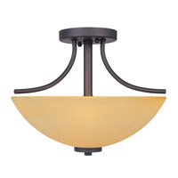 Designers Fountain Marbella 2 Light Semi-Flush in Oil Rubbed Bronze 83211-ORB