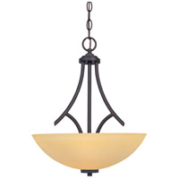 Designers Fountain Marbella 3 Light Pendant in Oil Rubbed Bronze 83231-ORB