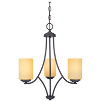 Designers Fountain Marbella 3 Light Chandelier in Oil Rubbed Bronze 83283-ORB