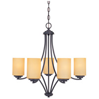 Designers Fountain Marbella 5 Light Chandelier in Oil Rubbed Bronze 83285-ORB