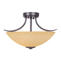 Designers Fountain Madison 2 Light Semi-Flush in Oil Rubbed Bronze 83311-ORB