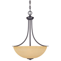 Madison 3 Light 120 Oil Rubbed Bronze Pendant Ceiling Light