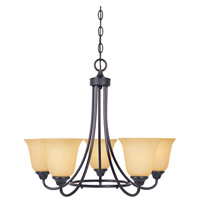 Designers Fountain Madison 5 Light Chandelier in Oil Rubbed Bronze 83385-ORB