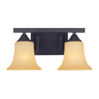 Designers Fountain Seville 2 Light Bath Vanity in Oil Rubbed Bronze 83402-ORB
