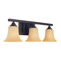 Designers Fountain Seville 3 Light Bath Vanity in Oil Rubbed Bronze 83403-ORB