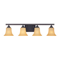 Designers Fountain Seville 4 Light Bath Vanity in Oil Rubbed Bronze 83404-ORB