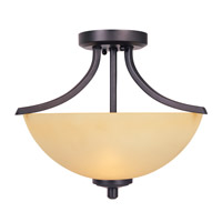 Designers Fountain Seville 2 Light Semi-Flush in Oil Rubbed Bronze 83411-ORB