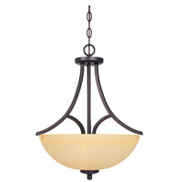 Designers Fountain Seville 3 Light Pendant in Oil Rubbed Bronze 83431-ORB