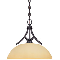 Designers Fountain Seville 1 Light Pendant in Oil Rubbed Bronze 83432-ORB