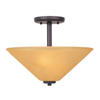Designers Fountain Arcadia 2 Light Semi-Flush in Oil Rubbed Bronze 83511-ORB