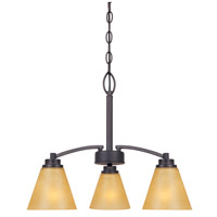 Designers Fountain Arcadia 3 Light Chandelier in Oil Rubbed Bronze 83583-ORB