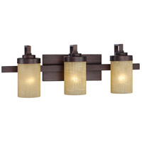 Designers Fountain Castello 3 Light Bath Bar in Tuscana 83603-TU