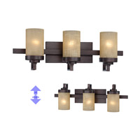 Castello 3 Light 23 inch Tuscana Bath Bar Wall Light