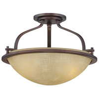 Castello 2 Light 120 Tuscana Semi-Flush Ceiling Light