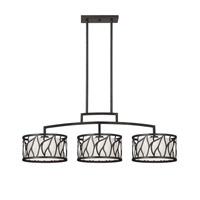 Designers Fountain Modesto 3 Light Island Pendant in Artisan 83738-ART