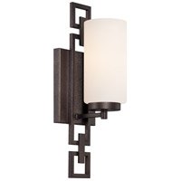 Designers Fountain Del Ray 1 Light Bath Vanity in Flemish Bronze 83801-FBZ
