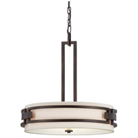 Del Ray 3 Light 120 Flemish Bronze Pendant Ceiling Light