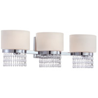 Candence 3 Light 25 inch Chrome Bath Bar Wall Light