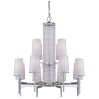 Designers Fountain Candence 12 Light Chandelier in Chrome 839812-CH