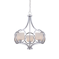 Mirage 5 Light 26 inch Chrome Chandelier Ceiling Light