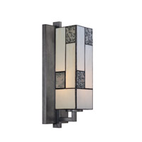 Designers Fountain Bradley 1 Light Wall Sconce in Charcoal 84101-CHA
