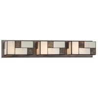 Designers Fountain 84103-CHA Bradley 3 Light 29 inch Charcoal Bath Bar Wall Light