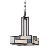 Designers Fountain Bradley 3 Light Pendant in Charcoal 84131-CHA
