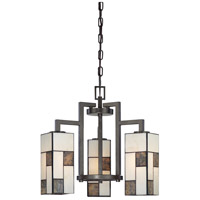 Designers Fountain Bradley 3 Light Chandelier in Charcoal 84183-CHA
