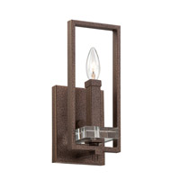 Designers Fountain Fieldhouse 1 Light Bath Vanity in Flemish Bronze 84301-FBZ