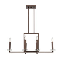 Designers Fountain Fieldhouse 1 Light Chandelier in Flemish Bronze 84386-FBZ