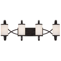 Bellemeade 4 Light 30 inch Artisan Bath Bar Wall Light