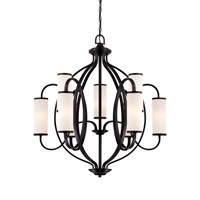 Designers Fountain Bellemeade 9 Light Chandelier in Artisan 84489-ART