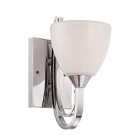 Designers Fountain Cortona 1 Light Wall Sconce in Chrome 84601-CH