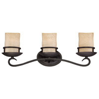 Designers Fountain Lauderhill 3 Light Bath Bar in Natural Iron 84703-NI