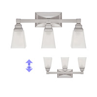 Designers Fountain 84903-SN Trenton 3 Light 21 inch Satin Nickel Bath Bar Wall Light 84903-SN_ALT.jpg thumb