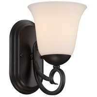 Designers Fountain Addison 1 Light Wall Sconce in Oil Rubbed Bronze 85201-ORB