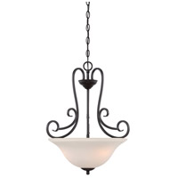 Designers Fountain Addison 3 Light Inverted Pendant in Oil Rubbed Bronze 85231-ORB